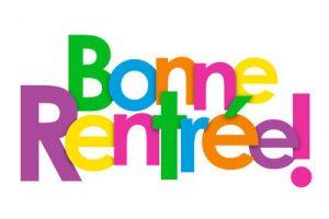 """Icne Vecteur """"BONNE RENTREE!"""""""